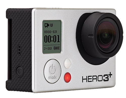 GoPro HD Hero 3 (silver edition)